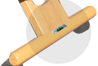 dettaglio piede sedia ergonomica naturale con schienale-01