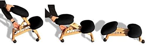 sedia ergonomica naturale-beige senza schienale-02