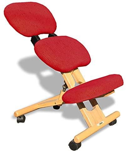 sedia ergonomica naturale-rossa con schienale-01
