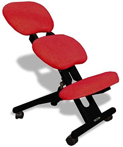 sedia ergonomica nera-rossa con schienale-01