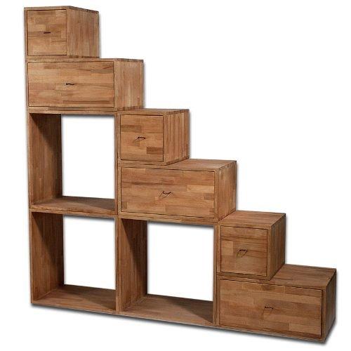scala libreria con cassetti 180